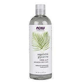 Now Solutions-Vegetable Glycerine 100% Pure Versatile Skin Care 16 fl.oz