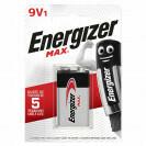 ENERGIZER MAX 9V1 6LR61/522 PILES