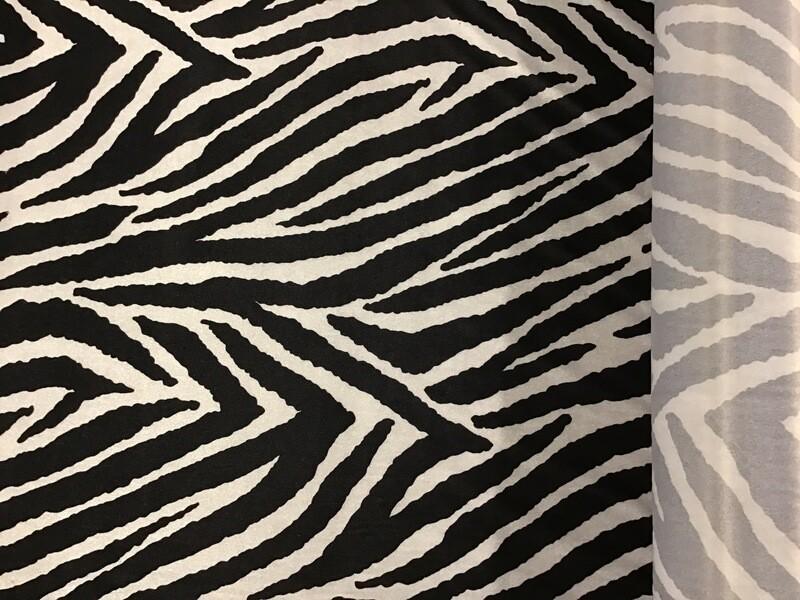 Lycra polyester zebra 150