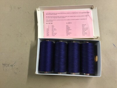 Bobine fil coton overlock 2500 mètres
