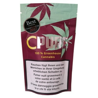 CPURE CANNABIS GREENHOUSE 3G THC <1%