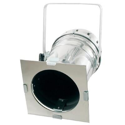 Projecteur PAR 64 KUPO - modèle ALU court double lyre, avec parsafe