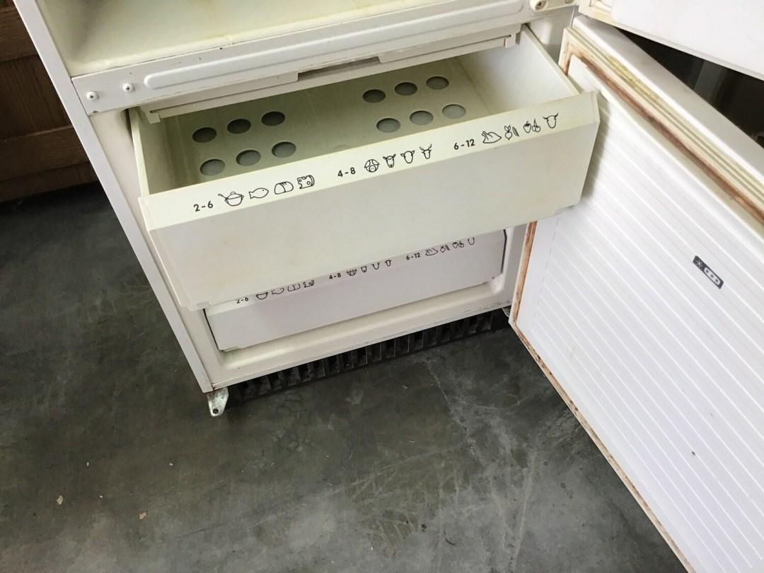 Frigo-congélateur aeg santo 3110 kg