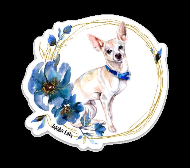 Patrón The Chihuahua Sticker