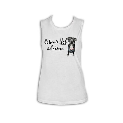 Color Is Not A Crime - Ladies Tank