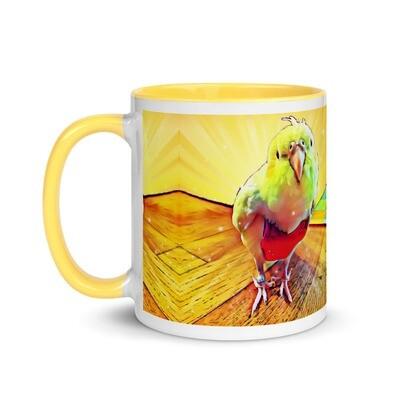 Cardi Peep's Rainbow Sunshine Mug