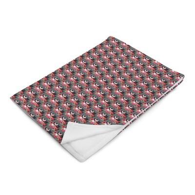 Glam 4 Life Mini Print Throw Blanket