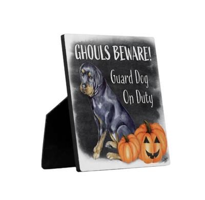 Ghouls Beware Security Sign - Dezi