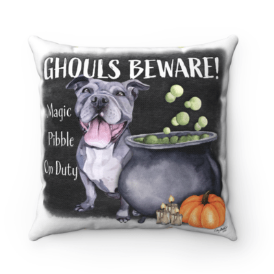 Ghouls Beware Pillowcase - Valerie