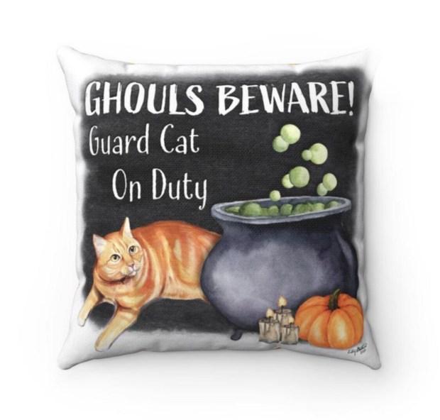 Ghouls Beware Pillowcase - Oliver