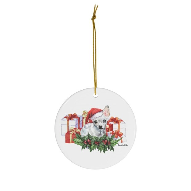 Santa (Fur)Baby Ornament