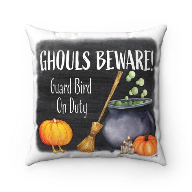 Ghouls Beware Pillowcase - Cardi Peep