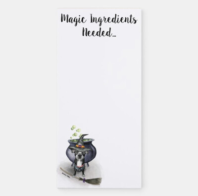 Magical Ingredients Magnetic Notepad