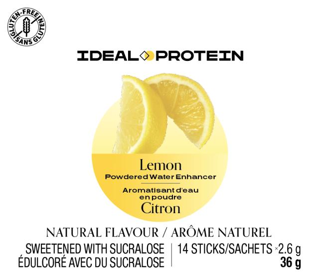Aromatisant d'eau en poudre au citron (12)