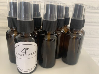 Aromatherapy Face and Body Spray - our greenhouse mint!