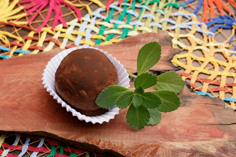 Trufão Quintana de chocolate com whisky