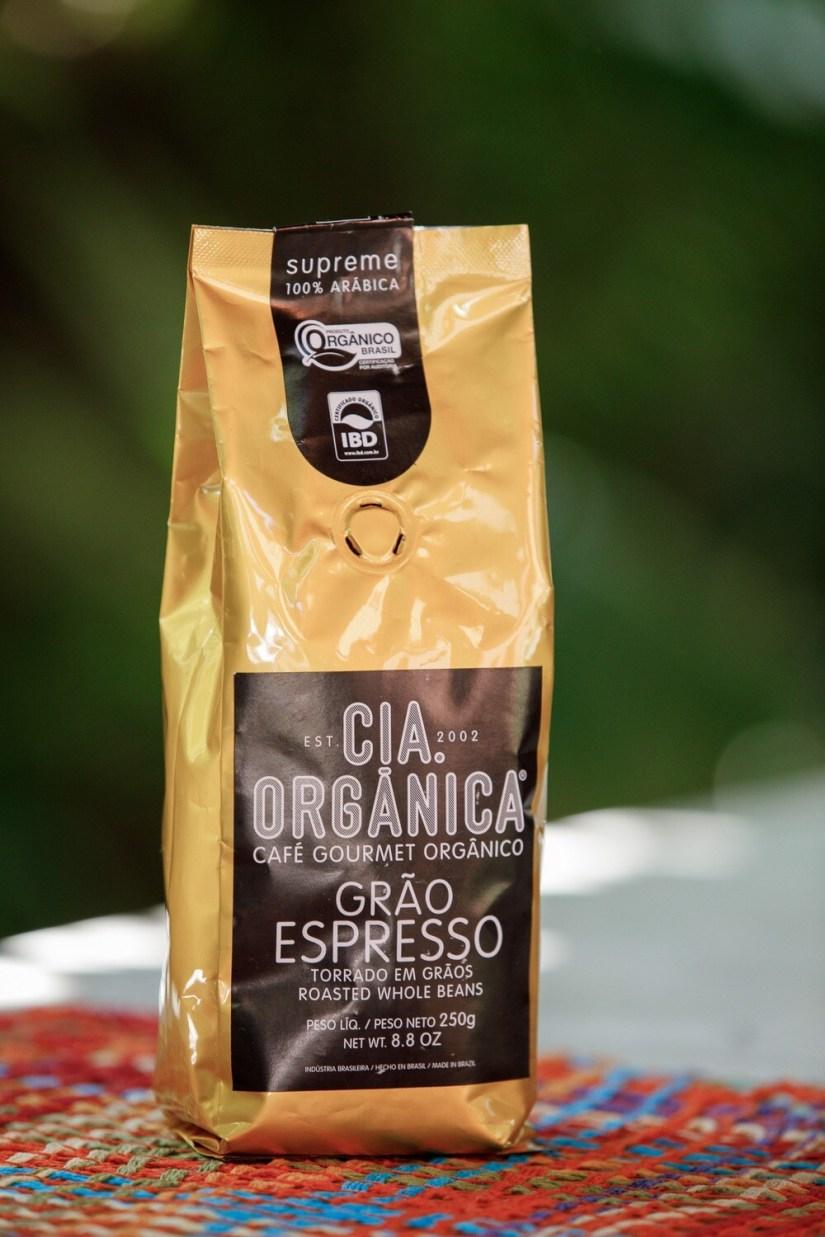 Café Gourmet Orgânico Grão Espresso – Cia. Orgânica - 1 kg