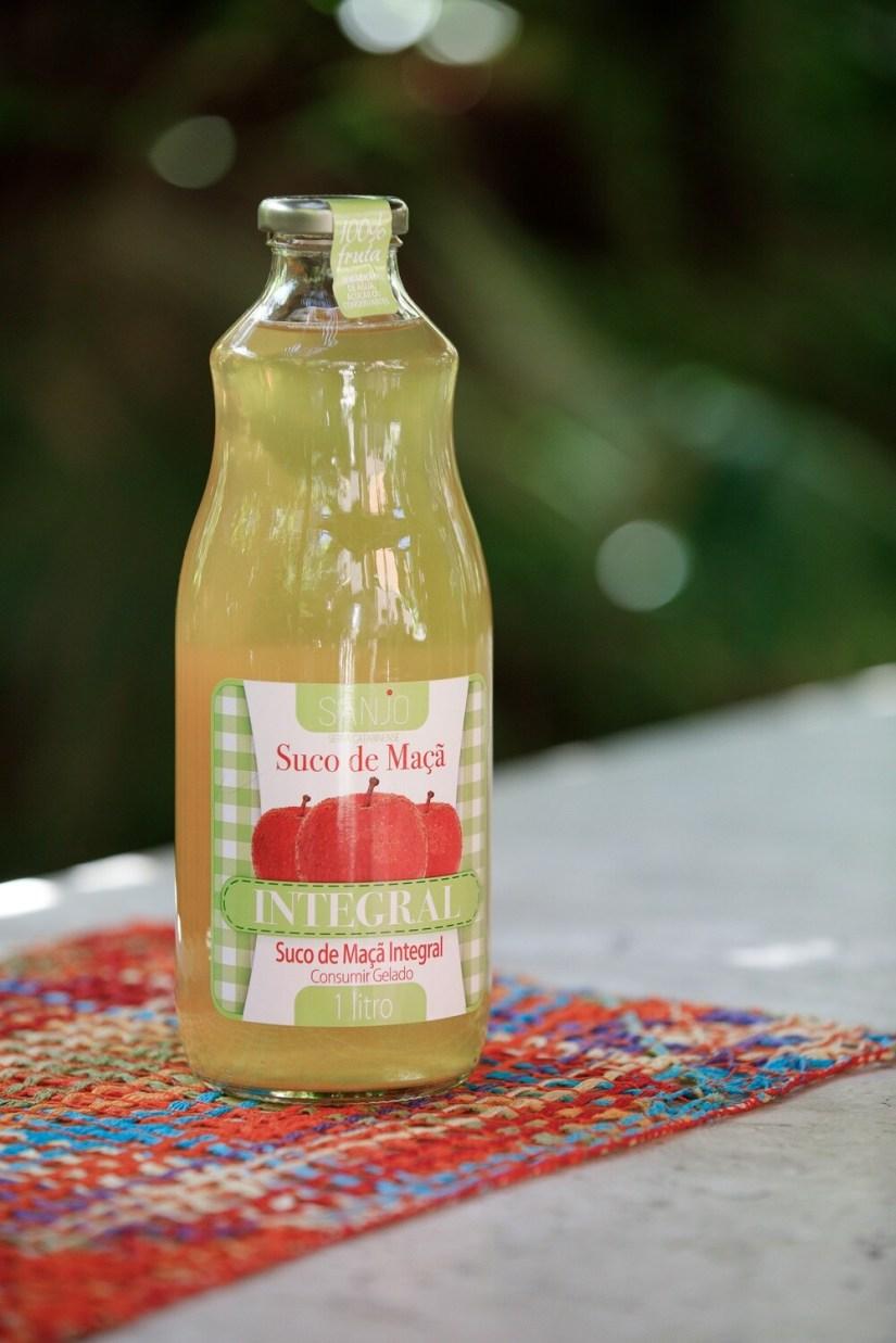 Suco de maçã integral Sanjo