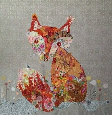 Freida Fox Collage by Laura Heine