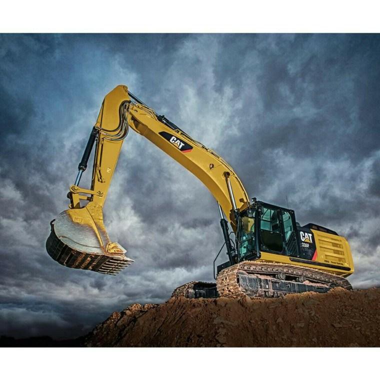 Excavator Panel P9106