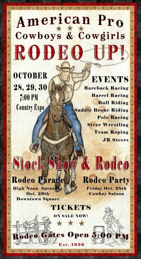 Rodeo Up Panel