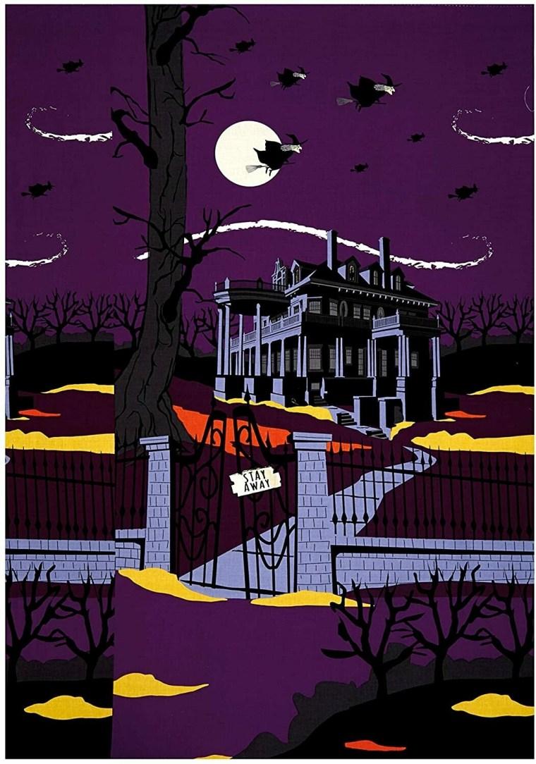 Haunted Purple Panel