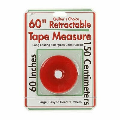 Retractable Tape Measure 60