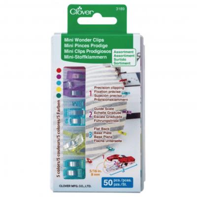 Mini Wonder Clips 50pc 3189CV