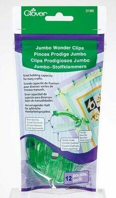 Jumbo Wonder Clips 12pc
