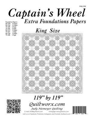 Captain's Wheel Extra Papers (King)
