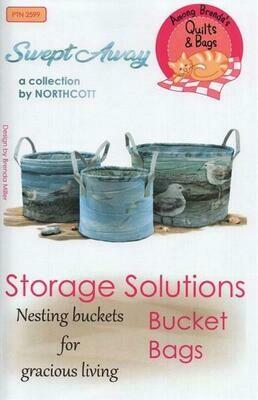 Nesting Bucket Bags Pattern PTN2599