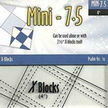 X Blocks- 7 1/2 Mini Block