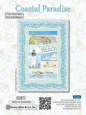 Coastal Paradise Quilt Kit