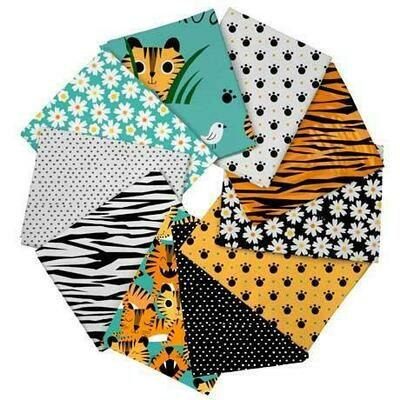 Tiger Tails FQ Bundle