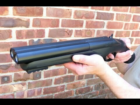 The double-barreled Home Defense Shotgun 68 combines power and speed.