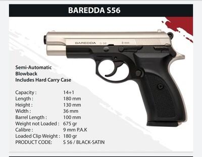 Baredda S 56 BLACK SATIN