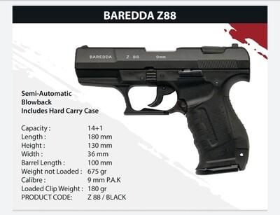Baredda Z 88 black