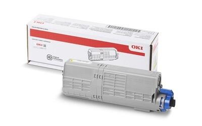 OKI Toner C532/C542/MC563/MC573 gelb 6000 Seiten