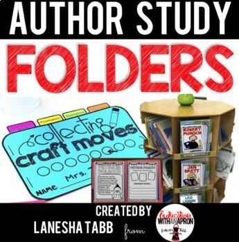 Author Study Folders