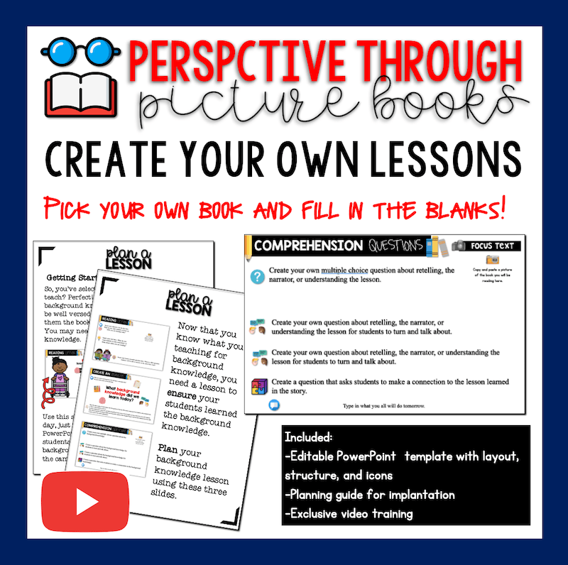 Create Your Own Perspective Through Picture Book Template and Video Guide