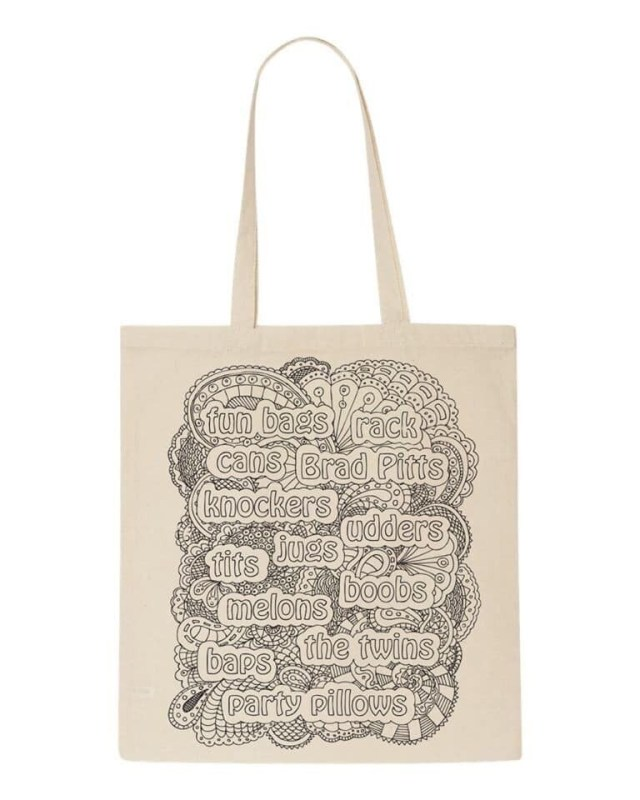 A Story of Breasts - tote bag