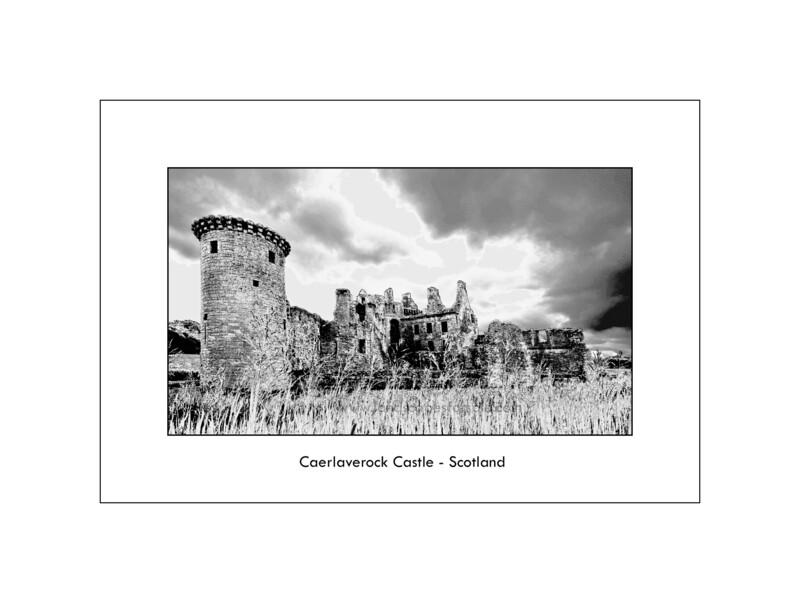 Caelaverock castle - Scotland