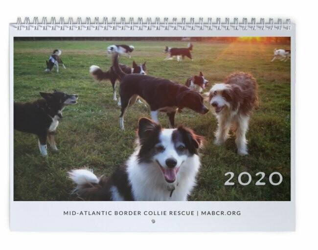 MABCR 2020 Calendar