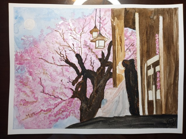 Peach Blossom Moonlight