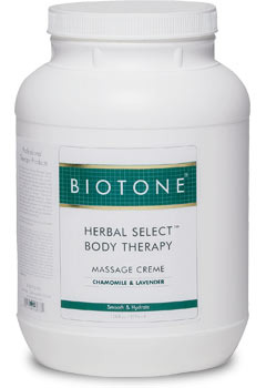 Herbal Select Body Therapy Massage Creme 1 Gallon