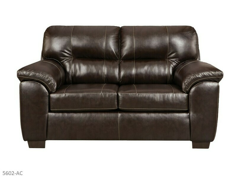 Austin Chocolate Loveseat by Affordable