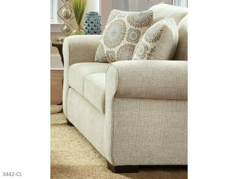 Charisma Linen Loveseat by Affordable