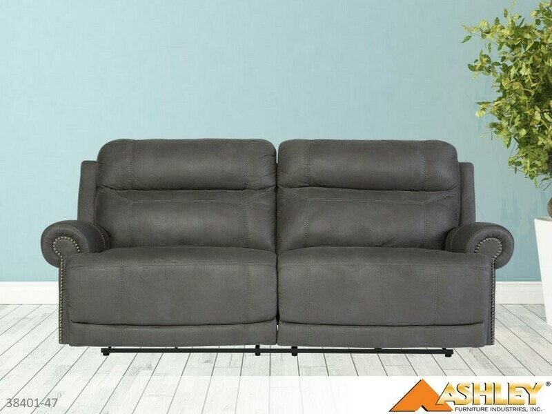 Austere Gray Reclining Sofa by Ashley