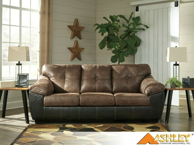 Gregale Coffee Stationary Sofa by Ashley
