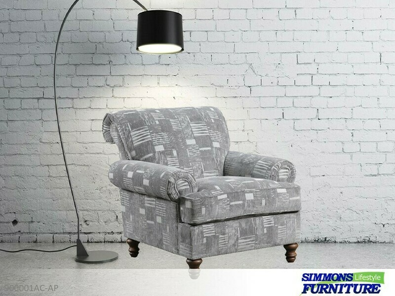 Starlight Pewter Chair by Simmons